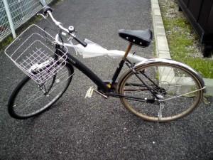 現在通勤に使用している2代目の自転車