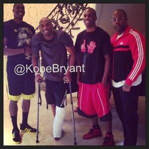 コービーのアキレス腱断裂からの復活にかける強い意志