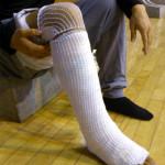 アキレス腱断裂から約1カ月