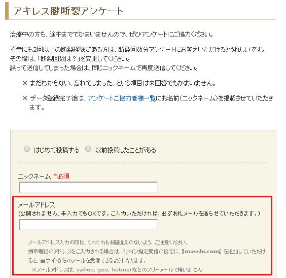 2013年11月 『アキレス腱断裂からの復活!』 人気ページランキング