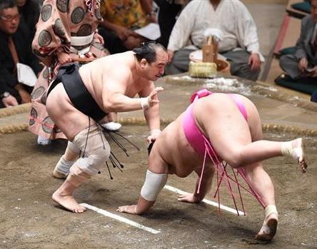 安美錦がアキレス腱断裂から復活!