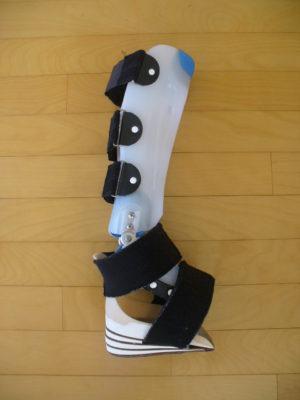 すけさん[男性、43歳、神奈川県、保存]のアキレス腱断裂用装具