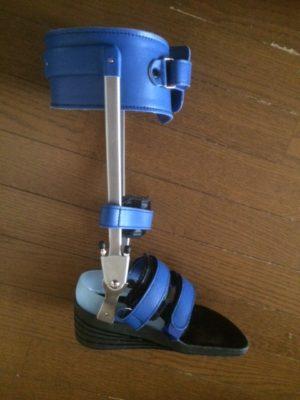 ひろしさん[男性、52歳、千葉県、保存]のアキレス腱断裂用装具