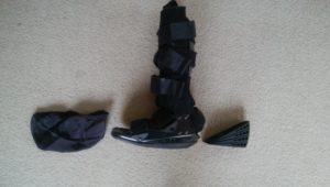 やまねくんさん[男性、65歳、茨城県、手術]のアキレス腱断裂用装具