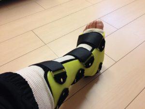タカポンさん[男性、38歳、新潟県、手術]のアキレス腱断裂用装具