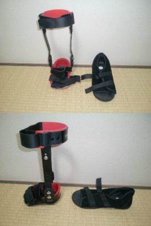 Pちゃんさん[男性、52歳、石川県、保存]のアキレス腱断裂用装具