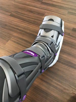fryeriさん[男性、44歳、神奈川県、手術]のアキレス腱断裂用装具