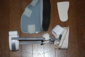 momoさん[女性、45歳、神奈川県、保存]のアキレス腱断裂用装具