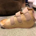 いにゃーさん[女性、40歳、愛知県、保存]のアキレス腱断裂用装具